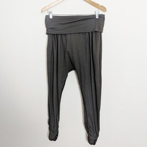 Lululemon Hot n Sweaty Harem Joggers Pants Gray 8